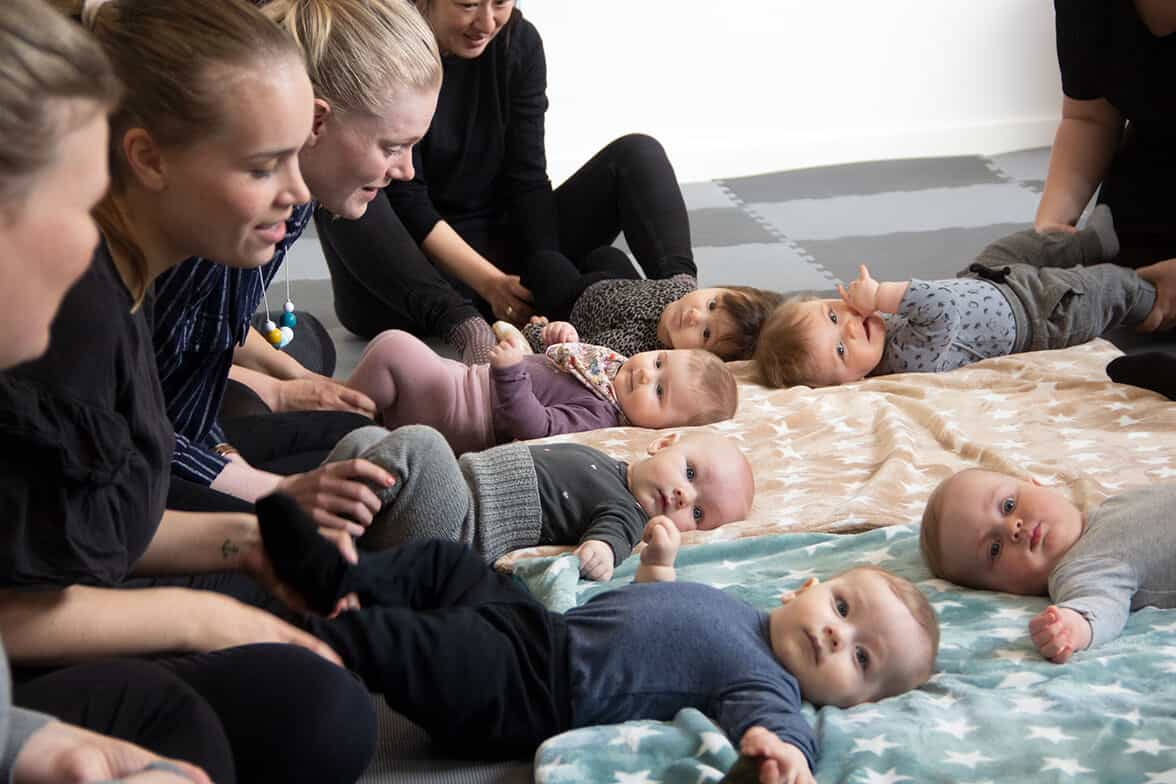 Babyrytmik | Hos Pernille's
