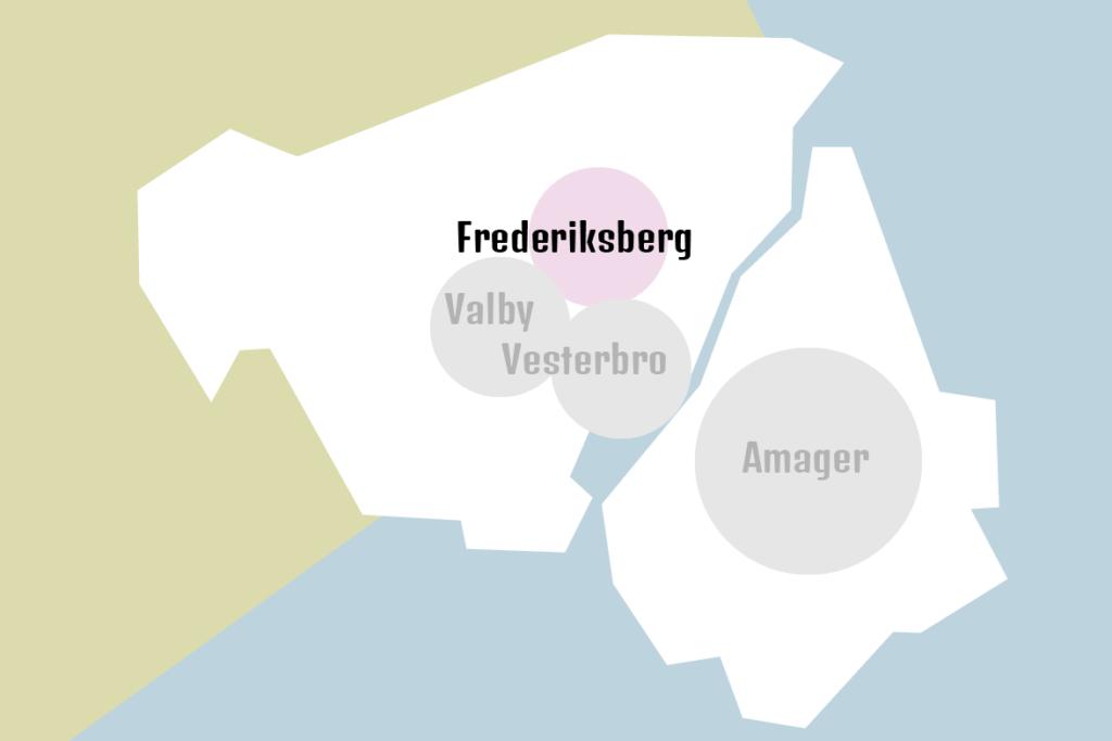 Kort Frederiksberg | Babyrytmik hos Pernille's