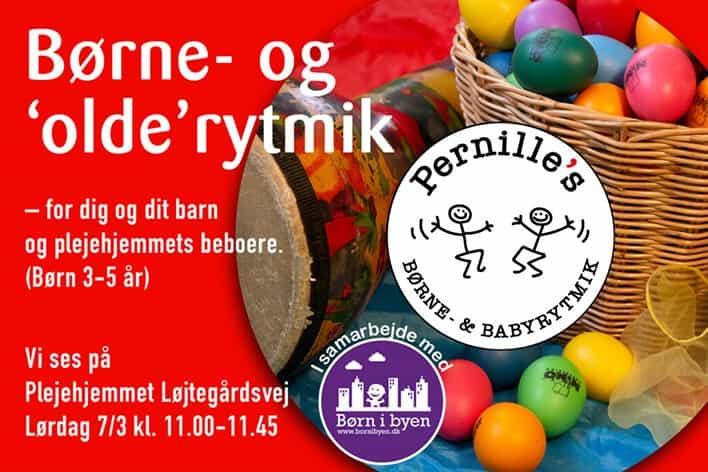 Olde & boernerytmik | Hos Pernille's